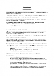 Conseil Municipal du Lundi 5 Octobre 2020